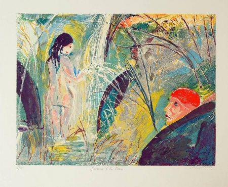 Arthur Boyd  - Susanna and the Elder