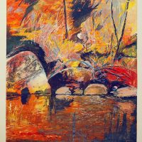 Arthur Boyd  - Reflecting Rocks