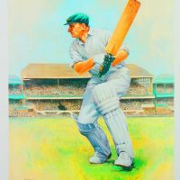 Alan Fearnley - Sir Donald Bradman