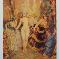 Norman Lindsay - The Curtain
